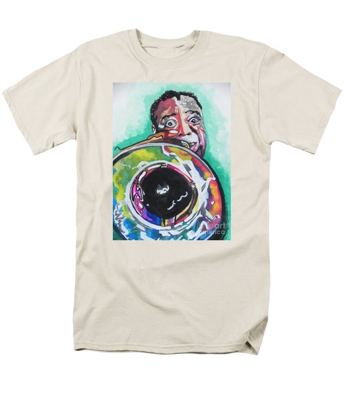 Louis Armstrong Men's T-Shirt  (Regular Fit) by Chrisann Ellis