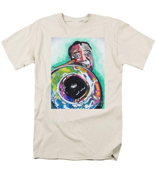 Louis Armstrong Men's T-Shirt  (Regular Fit)