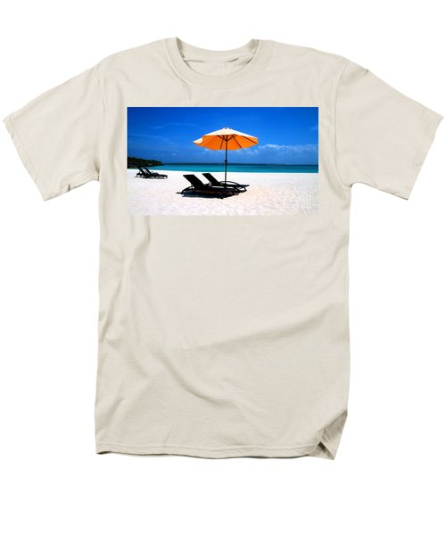 Men's T-Shirt  (Regular Fit) featuring the photograph Lounging By The Sea by Joey Agbayani