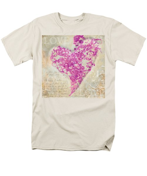 Love Is A Gift Men's T-Shirt  (Regular Fit) by Fran Riley