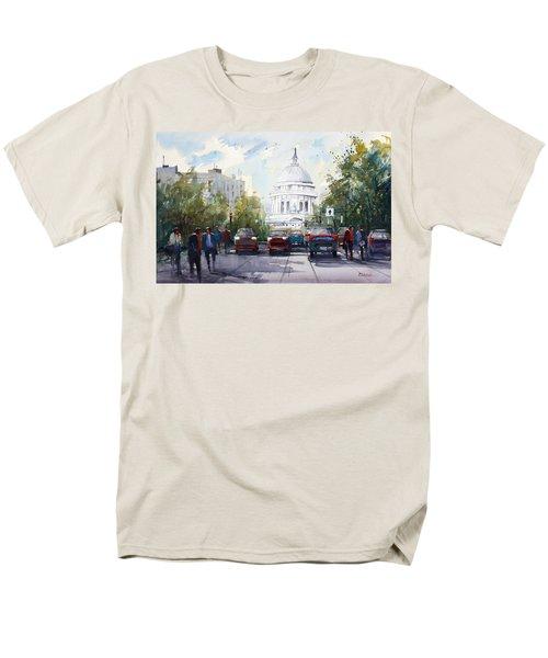 Madison - Capitol Men's T-Shirt  (Regular Fit) by Ryan Radke