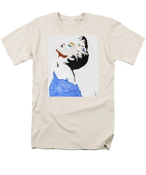 Madonna True Blue Men's T-Shirt  (Regular Fit) by Stormm Bradshaw