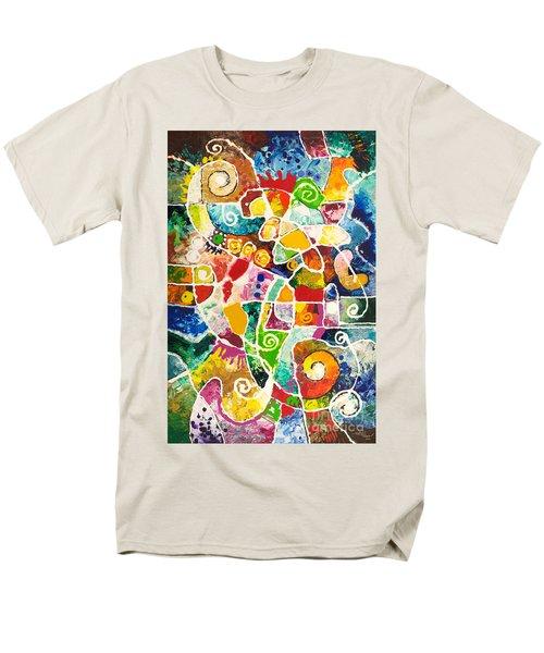Maize Men's T-Shirt  (Regular Fit) by Sally Trace
