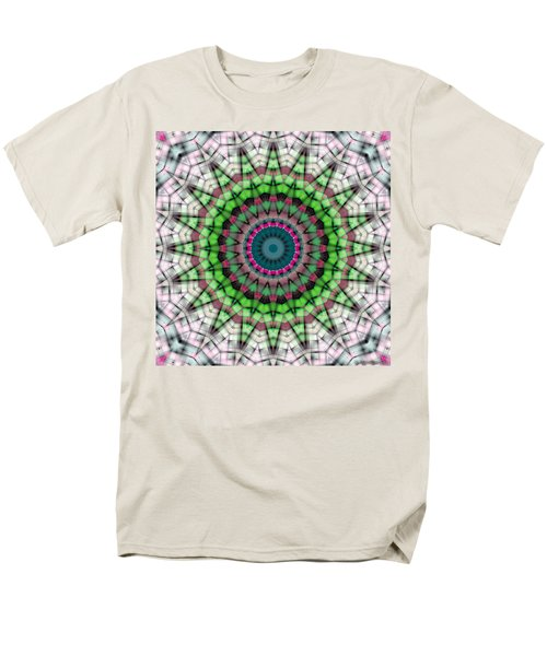 Men's T-Shirt  (Regular Fit) featuring the digital art Mandala 26 by Terry Reynoldson