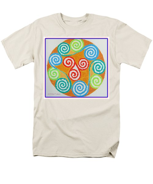 Men's T-Shirt  (Regular Fit) featuring the painting Mandala by Sonali Gangane