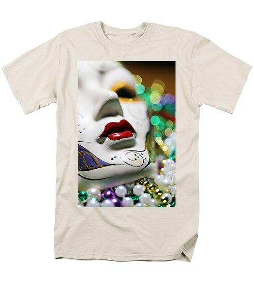Mardi Gras II Men's T-Shirt  (Regular Fit) by Trish Mistric