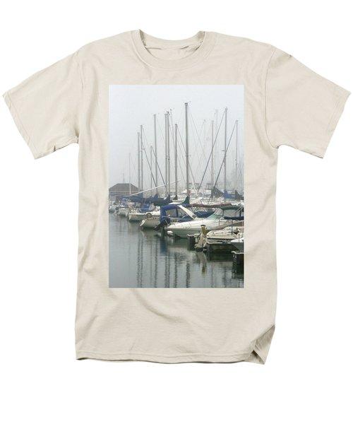 Marina Reflections Men's T-Shirt  (Regular Fit) by Kay Novy