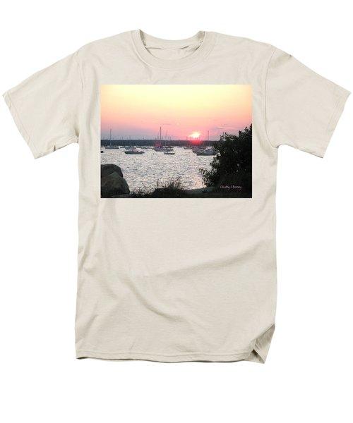 Marion Massachusetts Bay Men's T-Shirt  (Regular Fit) by Kathy Barney