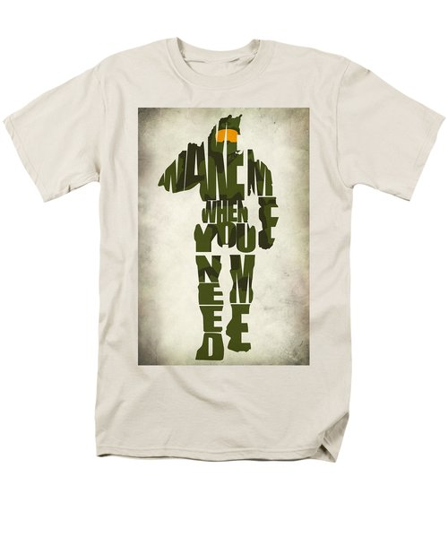 Master Chief Men's T-Shirt  (Regular Fit) by Ayse Deniz