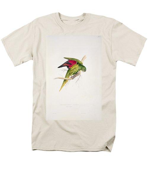Matons Parakeet Men's T-Shirt  (Regular Fit) by Edward Lear