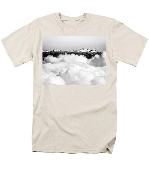 Mauna Kea Men's T-Shirt  (Regular Fit) by Denise Bird