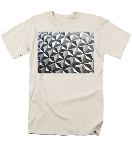 Men's T-Shirt  (Regular Fit) featuring the photograph Metal Geode by Chris Thomas