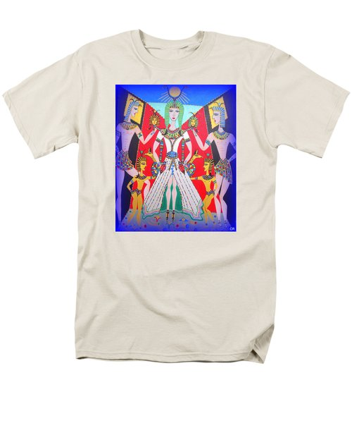 Metamorphosis Of Melisa Into Nefertiti Men's T-Shirt  (Regular Fit) by Marie Schwarzer