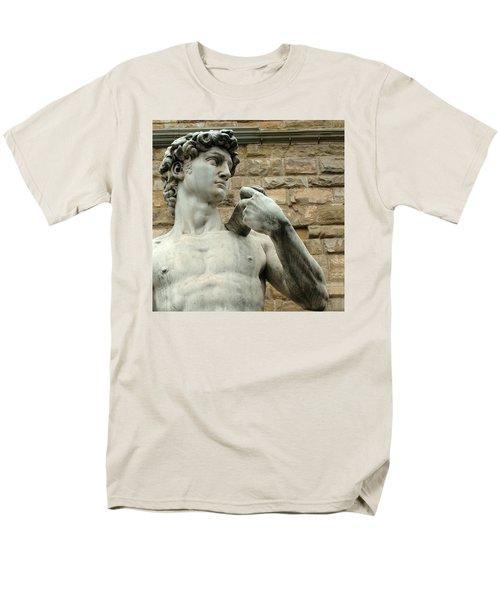 Michelangelo's David 1 Men's T-Shirt  (Regular Fit)