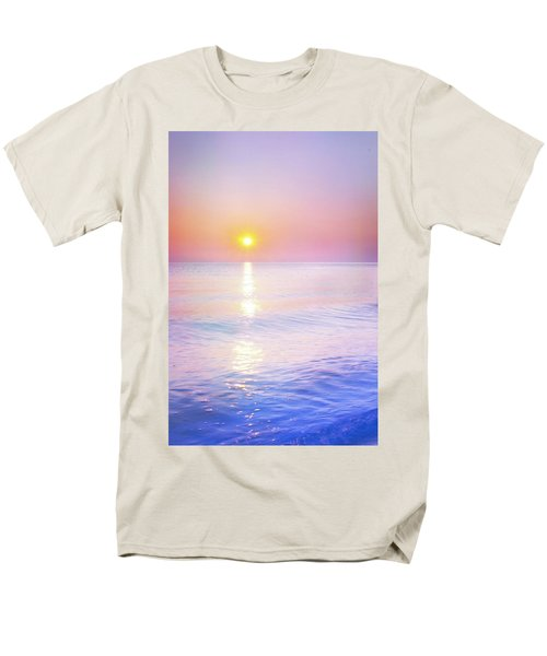 Men's T-Shirt  (Regular Fit) featuring the photograph Milky Sunset by Lilia D