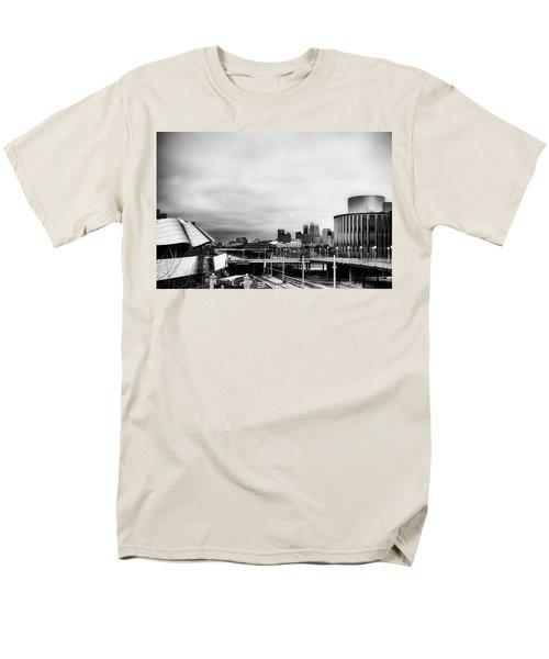 Minneapolis From The University Of Minnesota Men's T-Shirt  (Regular Fit) by Tom Gort
