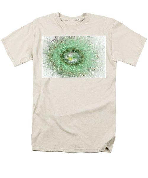 Men's T-Shirt  (Regular Fit) featuring the digital art Mint Green by Svetlana Nikolova