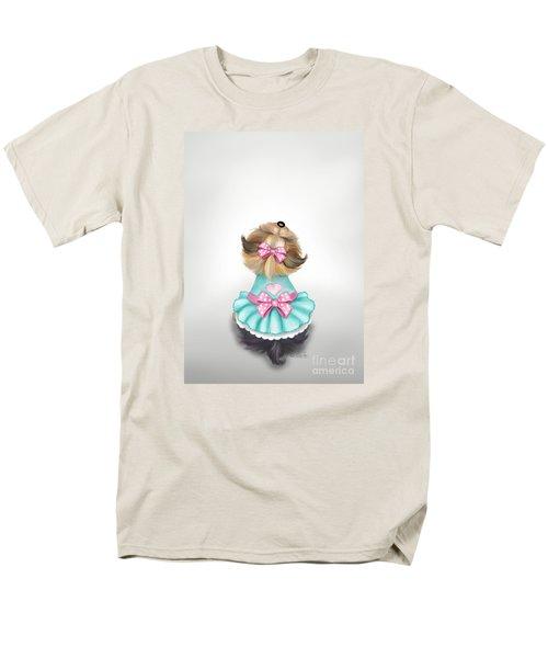 Miss Pretty Men's T-Shirt  (Regular Fit) by Catia Cho