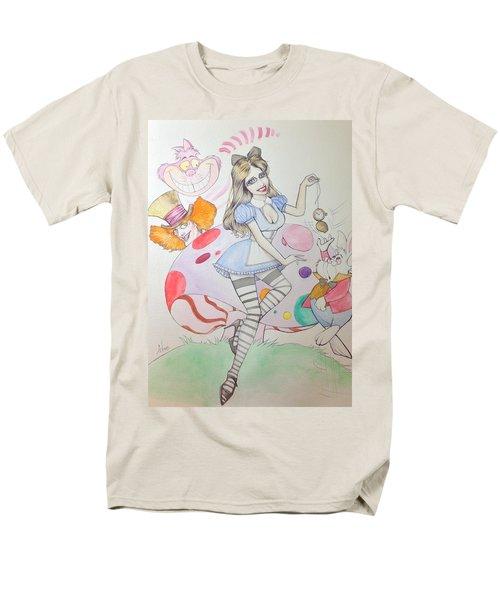 Misty Kay In Wonderland Men's T-Shirt  (Regular Fit) by Jimmy Adams