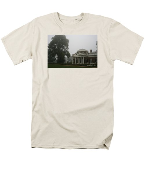 Misty Morning At Monticello Men's T-Shirt  (Regular Fit) by Christiane Schulze Art And Photography