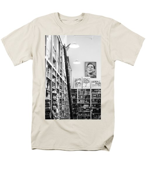 Modica Market - Black And White Men's T-Shirt  (Regular Fit) by Shelby  Young