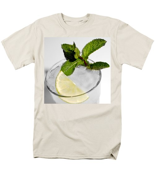 Mojito Detail Men's T-Shirt  (Regular Fit) by Gina Dsgn