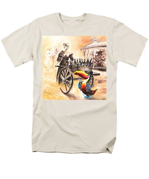 Molly Malone Men's T-Shirt  (Regular Fit) by Miki De Goodaboom