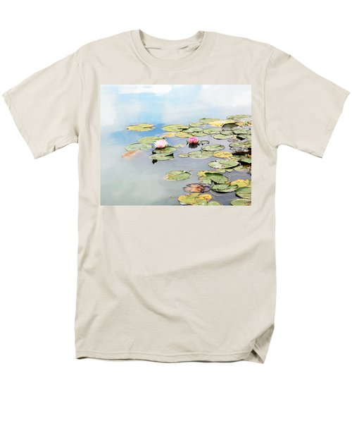 Men's T-Shirt  (Regular Fit) featuring the photograph Monet's Garden by Brooke T Ryan