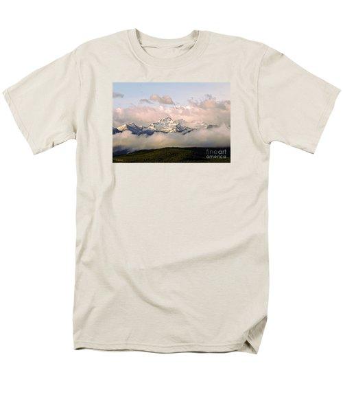 Montana Mountain Men's T-Shirt  (Regular Fit) by Joseph J Stevens