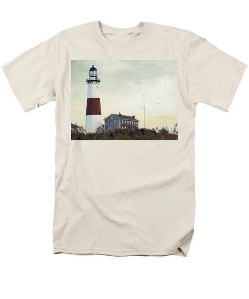 Men's T-Shirt  (Regular Fit) featuring the photograph Montauk Dusk by Keith Armstrong