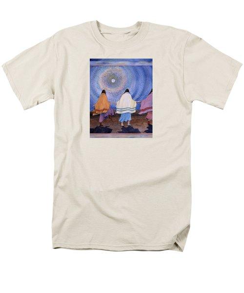 Moondance Men's T-Shirt  (Regular Fit) by Lynda Hoffman-Snodgrass