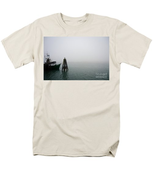 Men's T-Shirt  (Regular Fit) featuring the photograph Moored by CML Brown