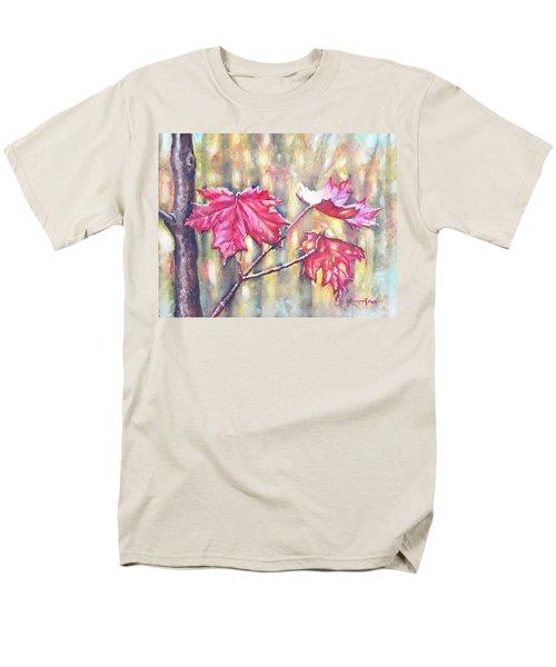 Morning After Autumn Rain Men's T-Shirt  (Regular Fit) by Shana Rowe Jackson