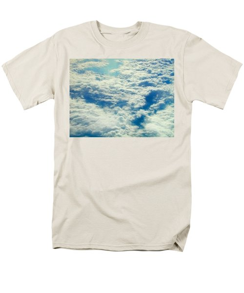 Men's T-Shirt  (Regular Fit) featuring the photograph Mostly Cloudy by Mark Greenberg