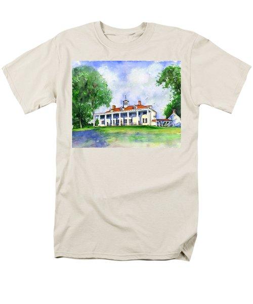 Mount Vernon Front Men's T-Shirt  (Regular Fit)