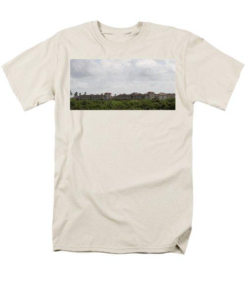 Mountain Villa Men's T-Shirt  (Regular Fit) by Mustafa Abdullah