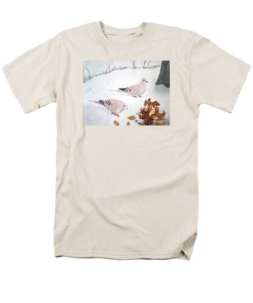Mourning Doves Men's T-Shirt  (Regular Fit) by Laurel Best