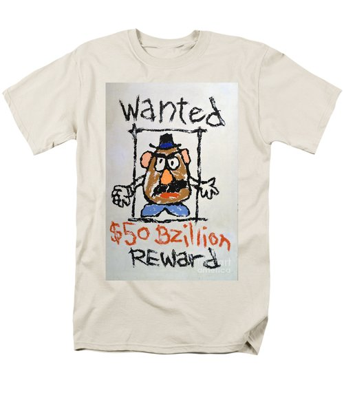 Men's T-Shirt  (Regular Fit) featuring the photograph Mr. Potato Head Gone Bad by Robert Meanor