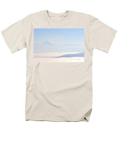 Mt. Baker From San Juan Islands Men's T-Shirt  (Regular Fit)