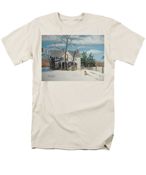 My Master Will Soon Be Home Men's T-Shirt  (Regular Fit) by Norm Starks