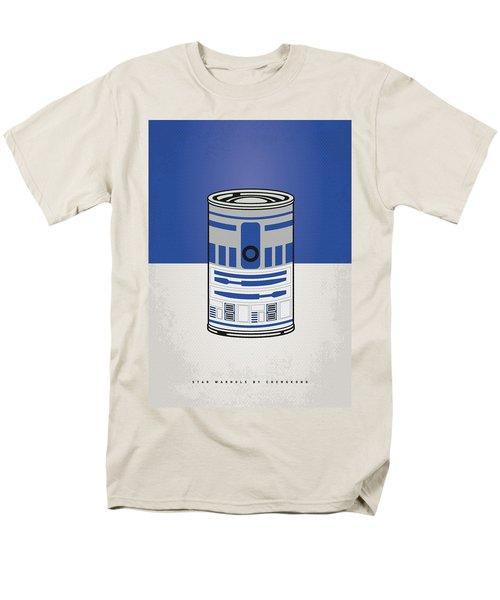 My Star Warhols R2d2 Minimal Can Poster Men's T-Shirt  (Regular Fit)