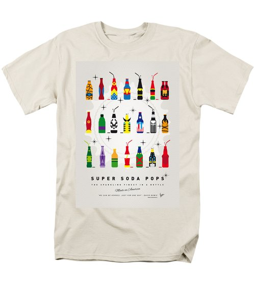 My Super Soda Pops No-00 Men's T-Shirt  (Regular Fit) by Chungkong Art