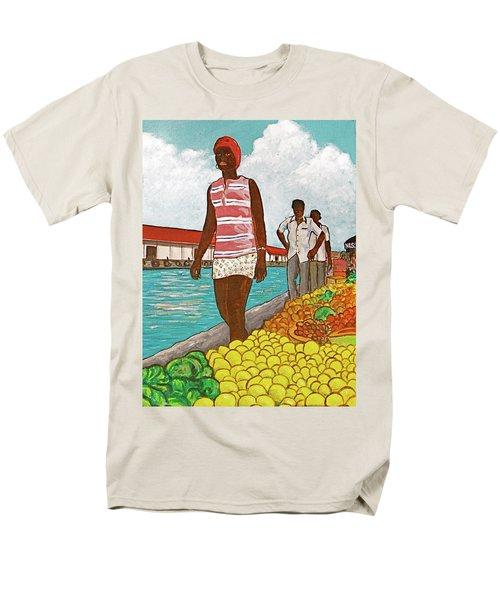 Nassau Woman Men's T-Shirt  (Regular Fit) by Frank Hunter