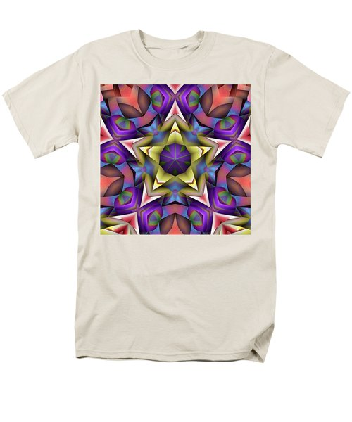 Natural Attributes 16 Square Men's T-Shirt  (Regular Fit) by Wendy J St Christopher