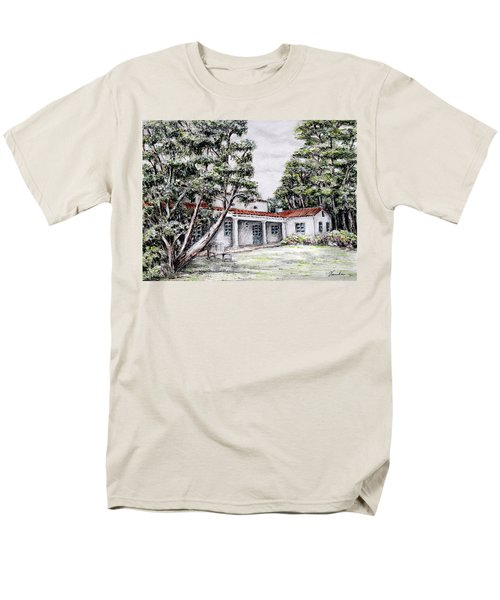 Nature And Architecture Men's T-Shirt  (Regular Fit) by Danuta Bennett