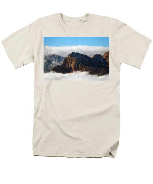 Nestled In The Clouds Men's T-Shirt  (Regular Fit) by Alan Socolik