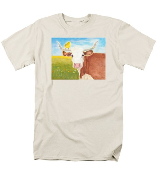 Men's T-Shirt  (Regular Fit) featuring the painting No Tree Necessary by Arlene Crafton