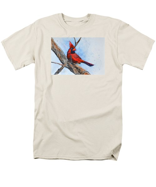 Men's T-Shirt  (Regular Fit) featuring the painting Noble Overseer by Beverley Harper Tinsley