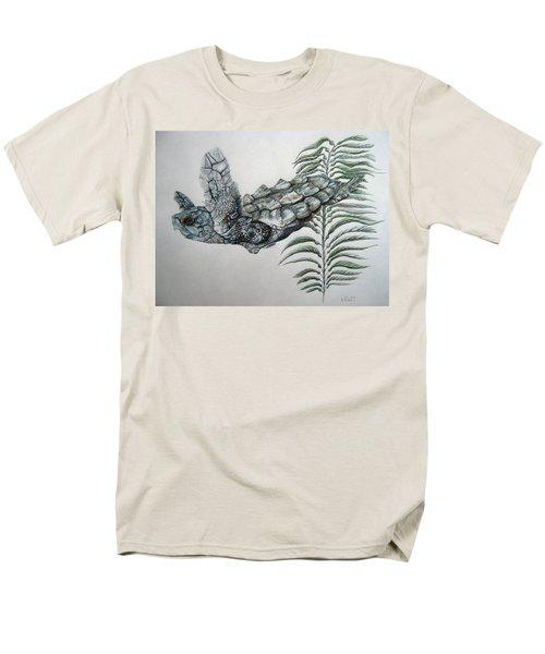 Men's T-Shirt  (Regular Fit) featuring the drawing Norman Blue by Mayhem Mediums