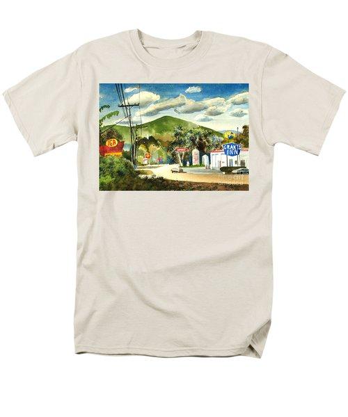 Nostalgia Arcadia Valley 1985  Men's T-Shirt  (Regular Fit) by Kip DeVore